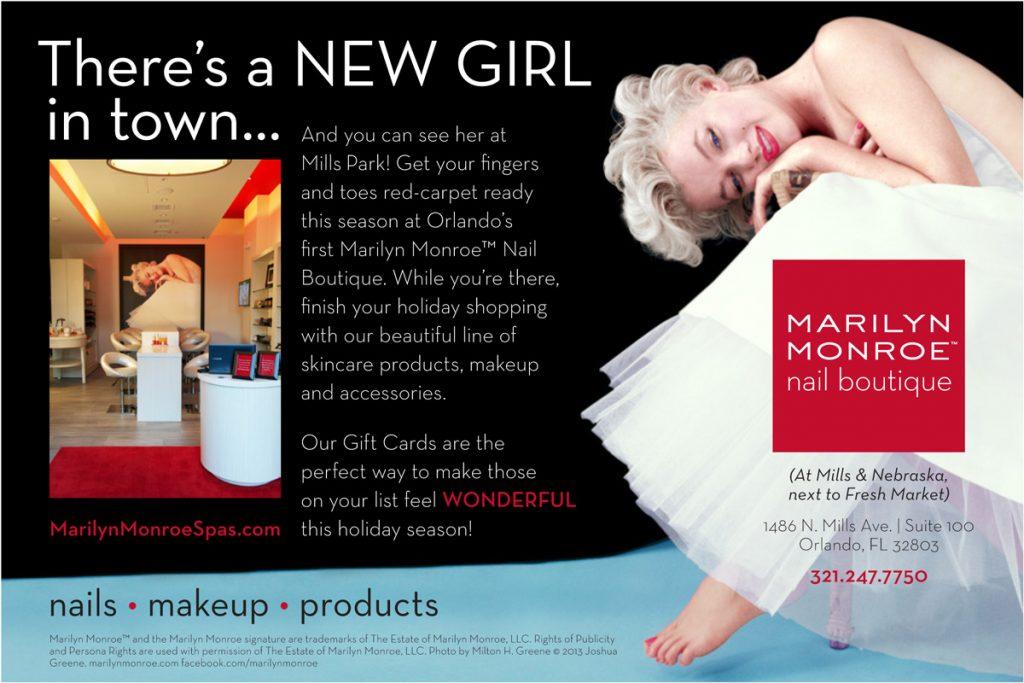 Marilyn Monroe Spas ad