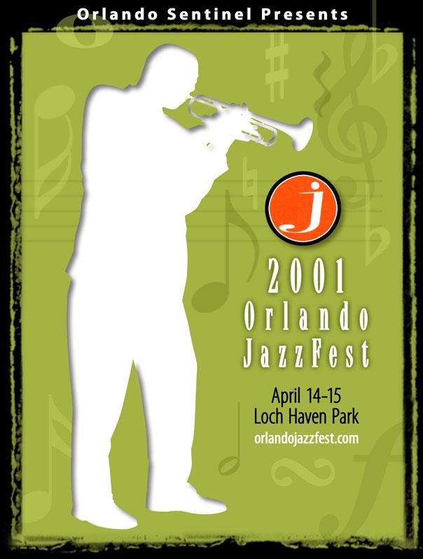 Orlando JazzFest Poster