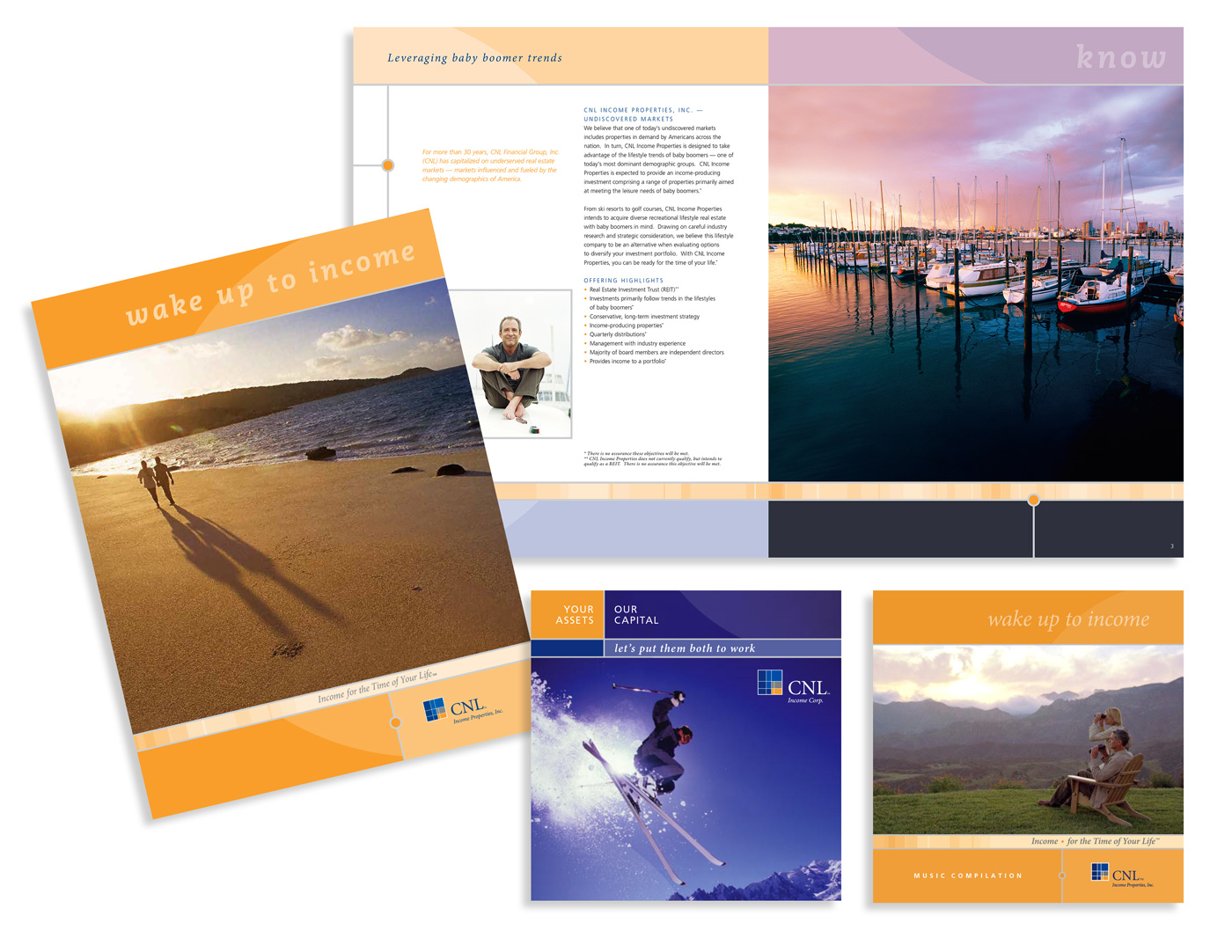 CNL Income Properties print collateral