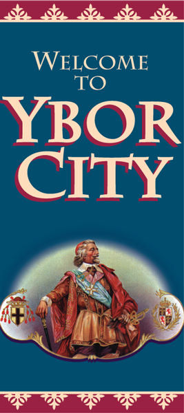 Ybor City welcome banner